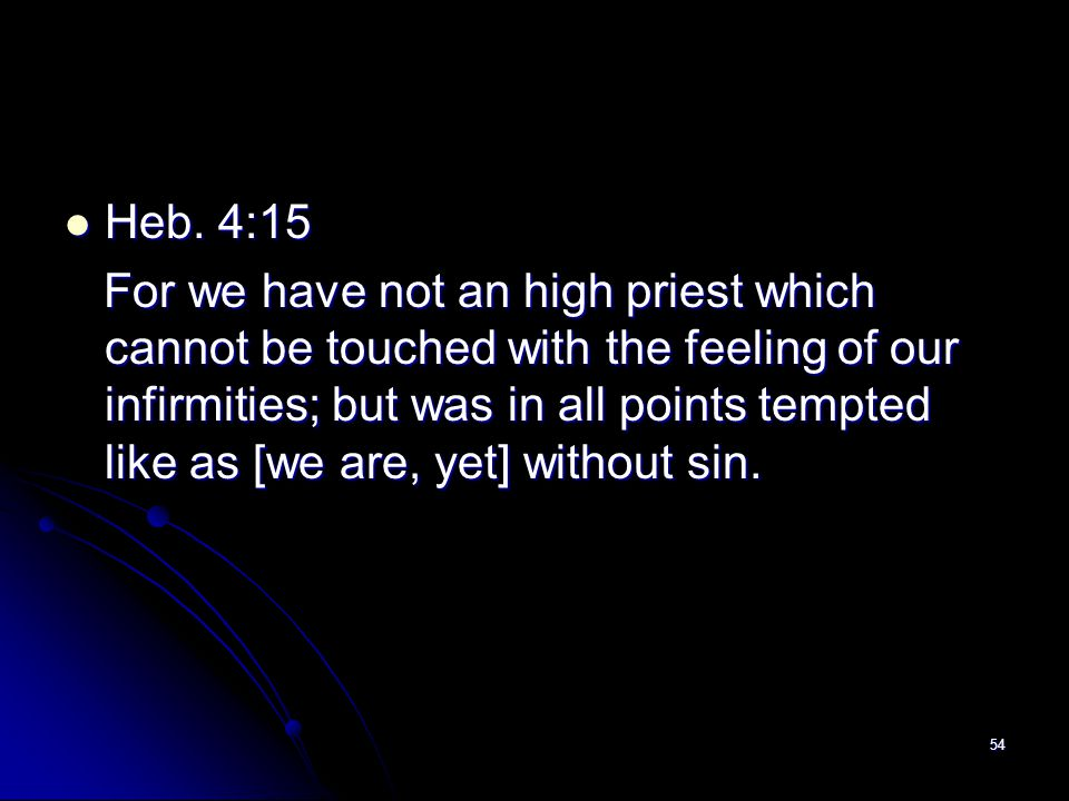 Heb. 4:15