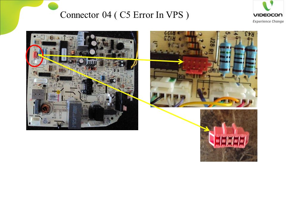 Connector 04 ( C5 Error In VPS )