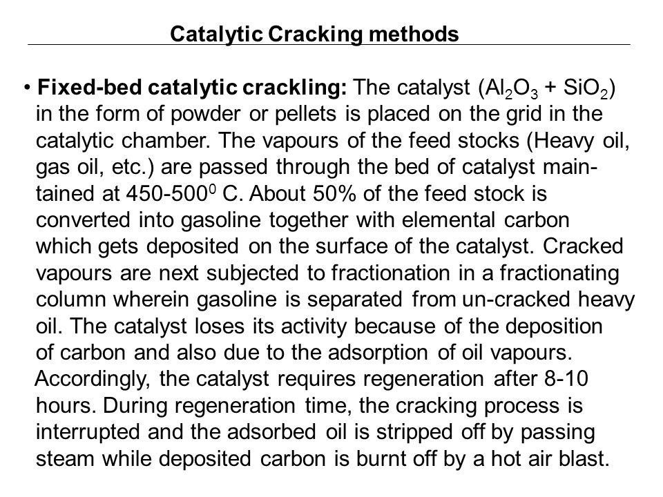 Catalytic Cracking methods