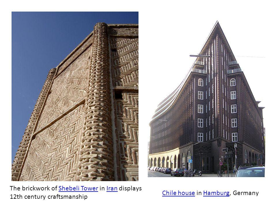 The brickwork of Shebeli Tower in Iran displays 12th century craftsmanship