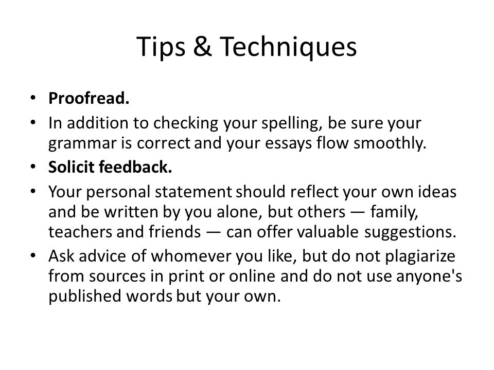 Tips & Techniques Proofread.