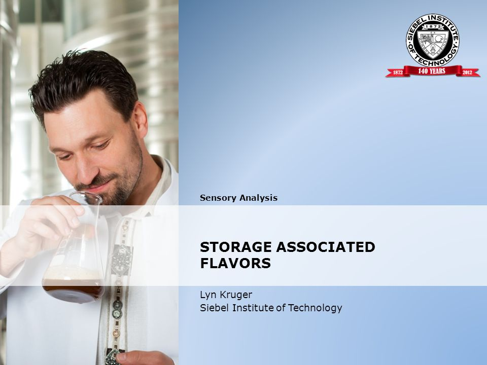STORAGE ASSOCIATED FLAVORS