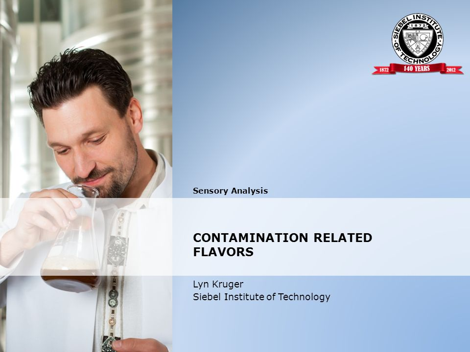 CONTAMINATION RELATED FLAVORS