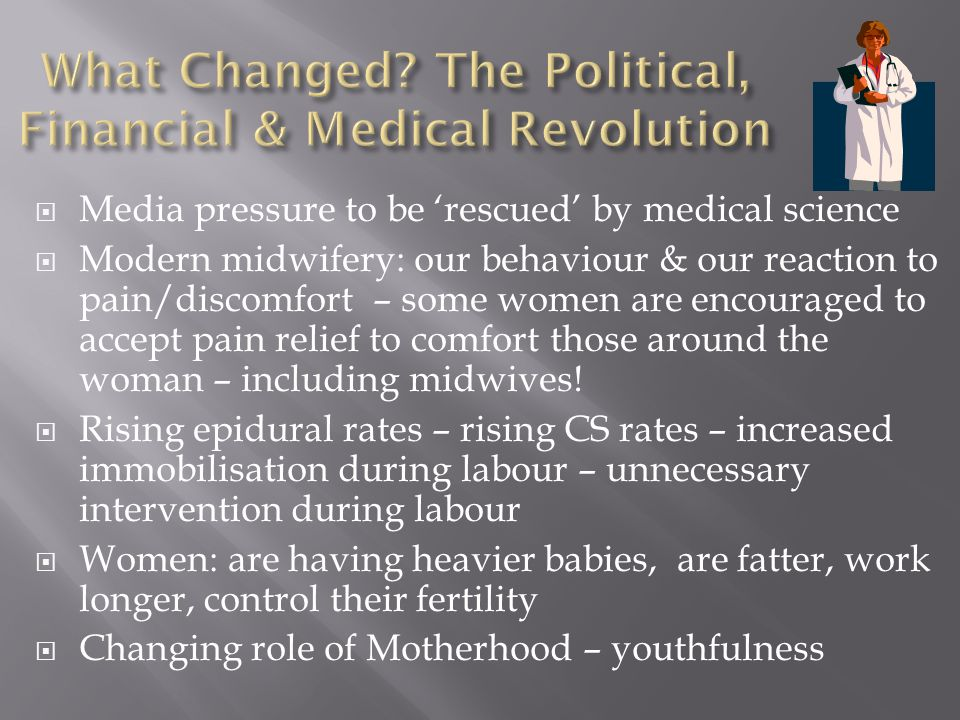 What Changed The Political, Financial & Medical Revolution