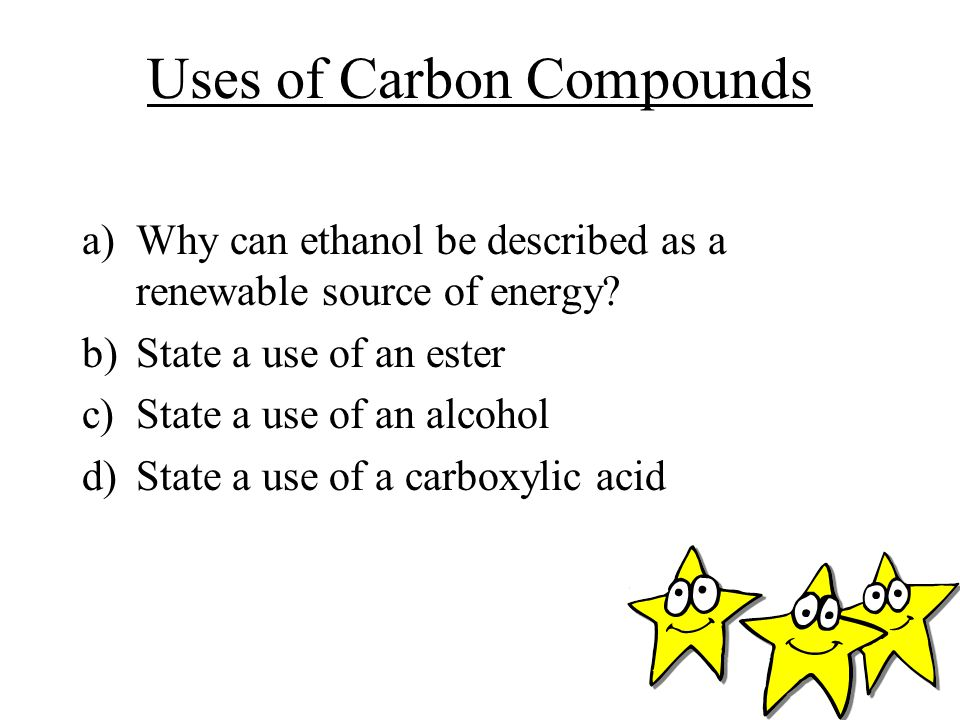 Uses of Carbon Compounds