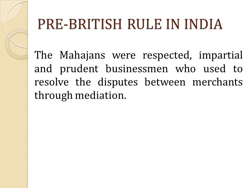 PRE-BRITISH RULE IN INDIA