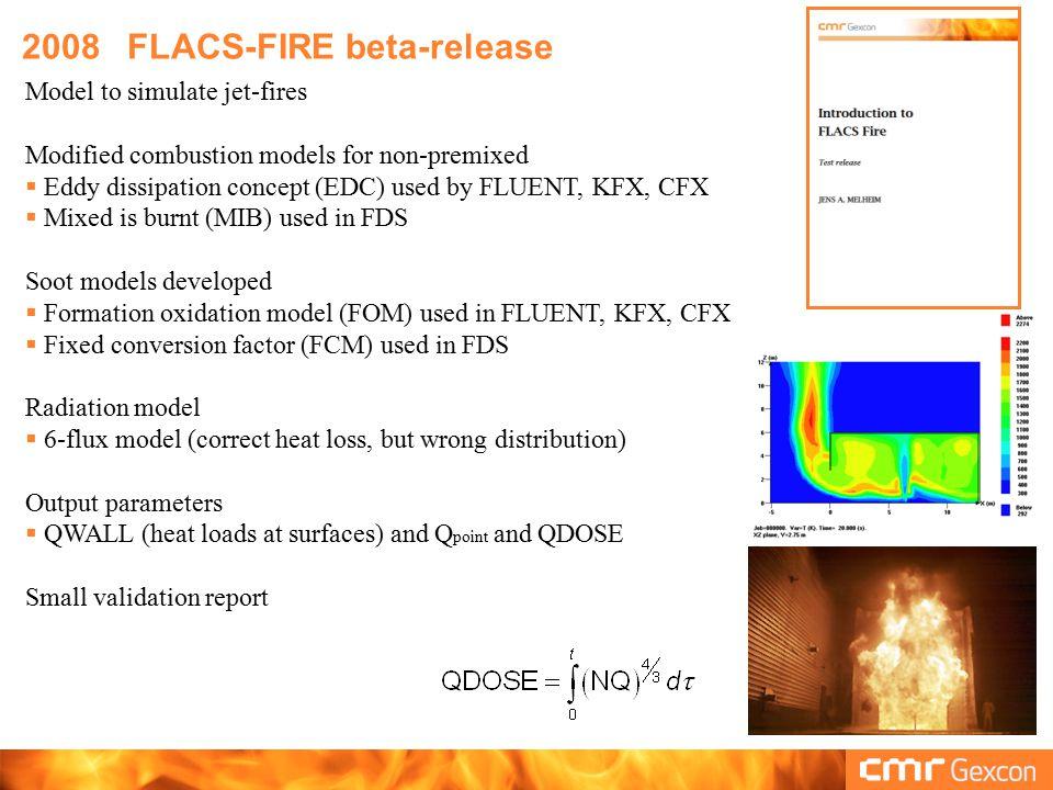 2008 FLACS-FIRE beta-release