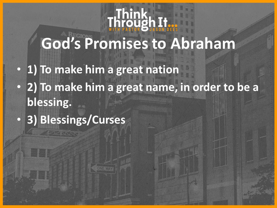 God's Promises to Abraham