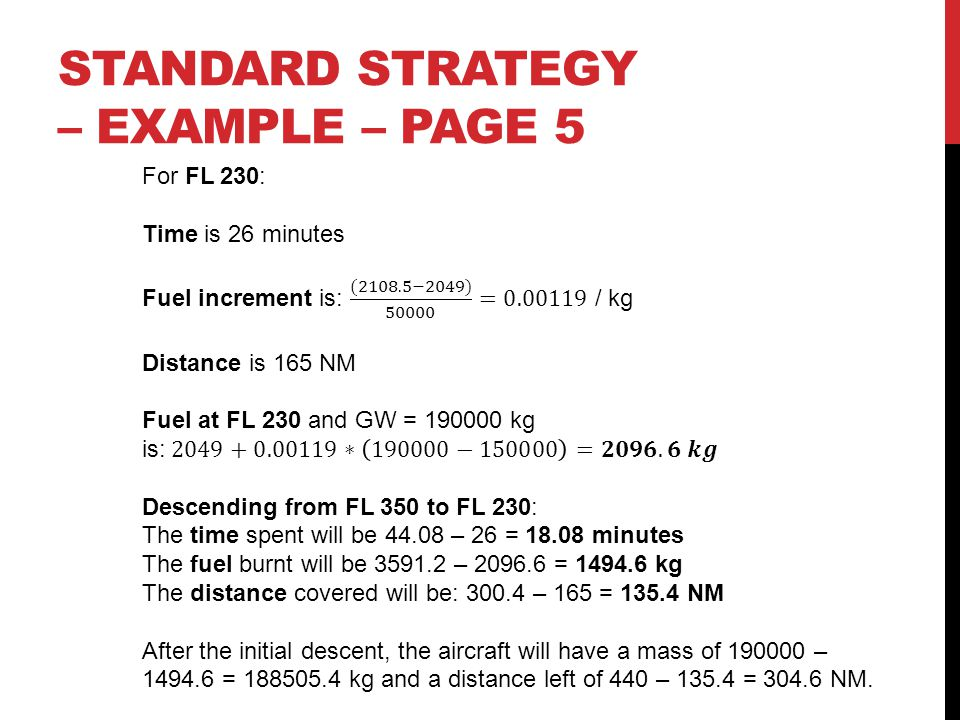 STANDARD STRATEGY – EXAMPLE – Page 5