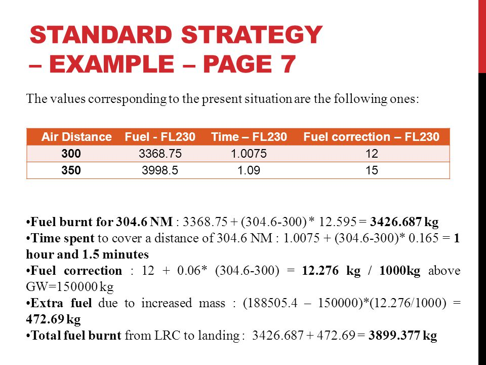 STANDARD STRATEGY – EXAMPLE – Page 7