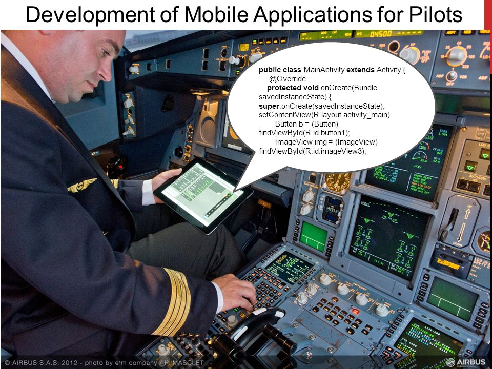 Development of Mobile Applications for Pilots