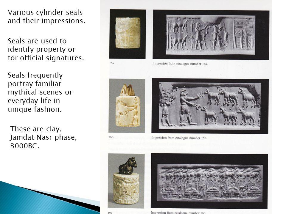 Various cylinder seals