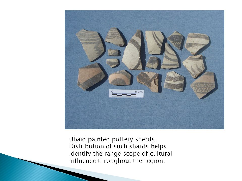Ubaid painted pottery sherds