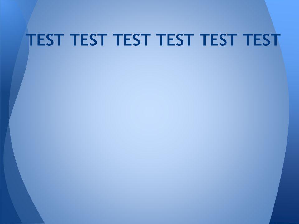 TEST TEST TEST TEST TEST TEST