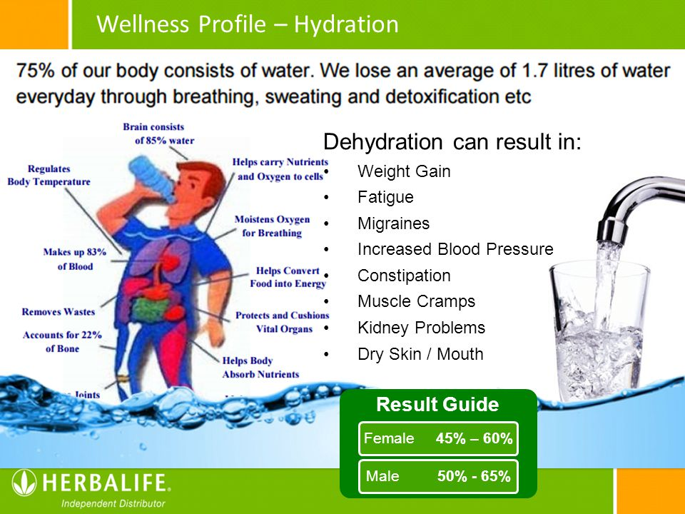 Wellness Profile – Hydration