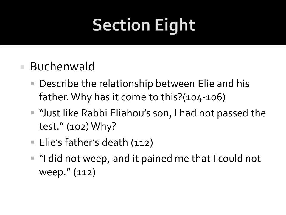 Section Eight Buchenwald