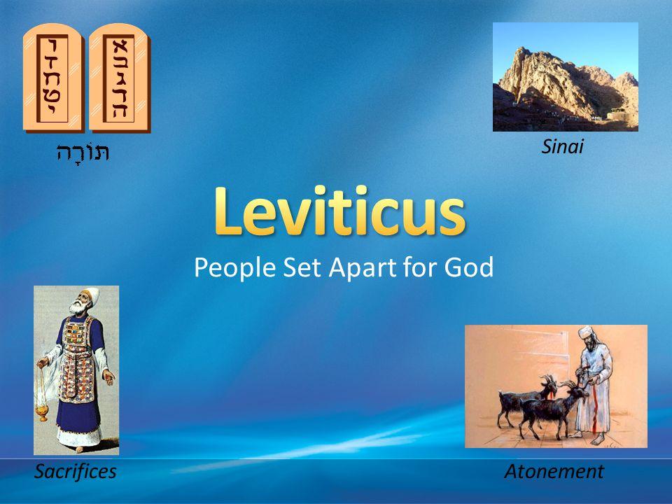 People Set Apart for God