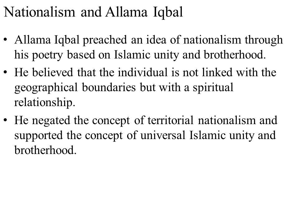 Nationalism and Allama Iqbal