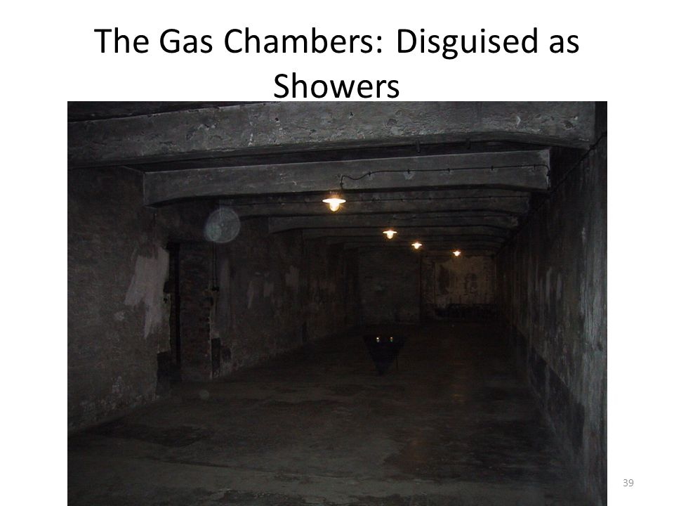 The Gas Chambers: Disguised as Showers