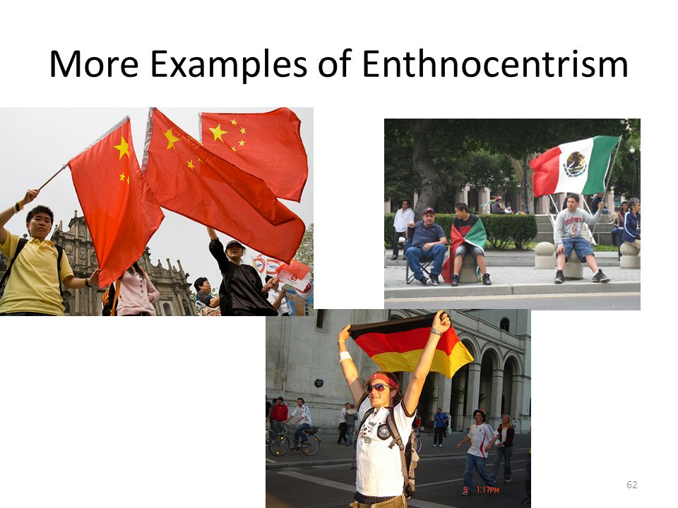 More Examples of Enthnocentrism