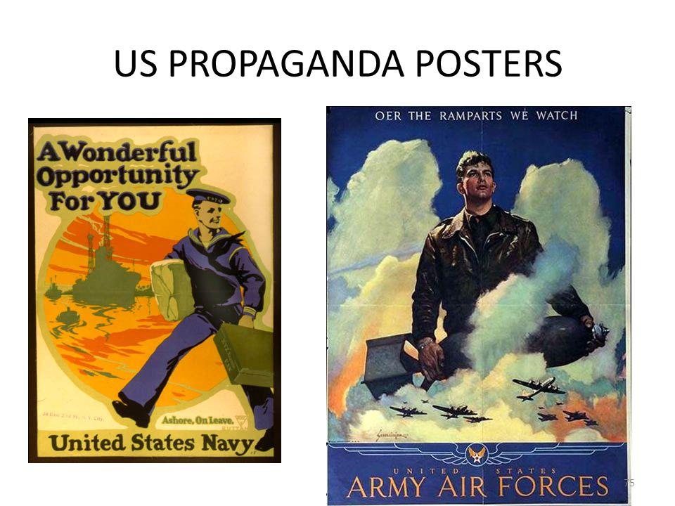 US PROPAGANDA POSTERS