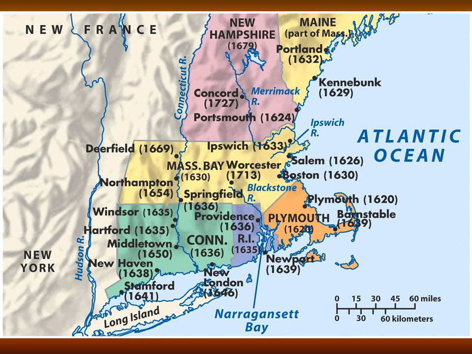 New England Colonies (cont)