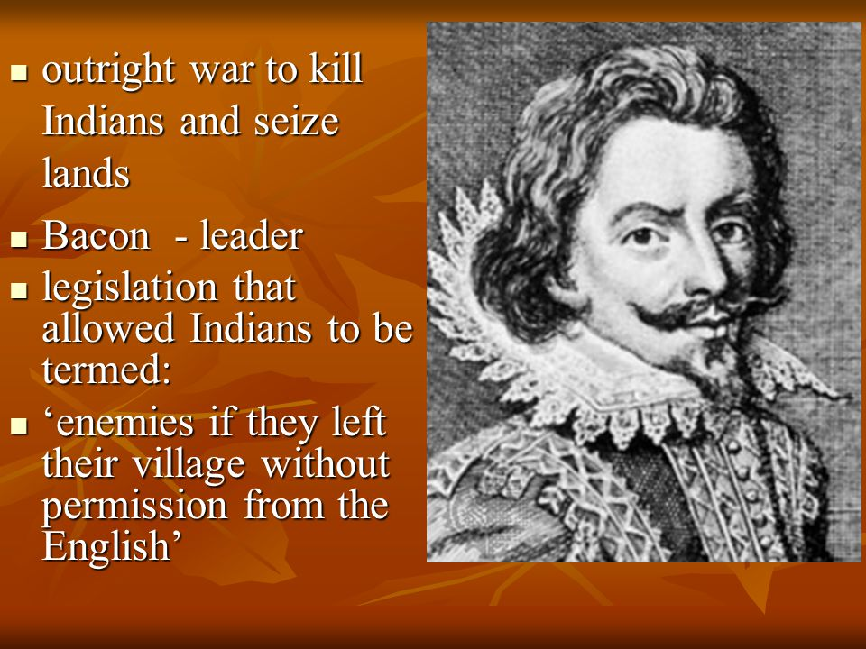 outright war to kill Indians and seize lands