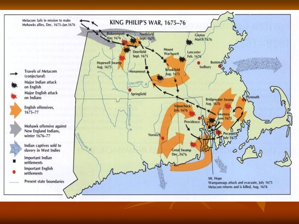 War probably planned by Metacom/King Philip
