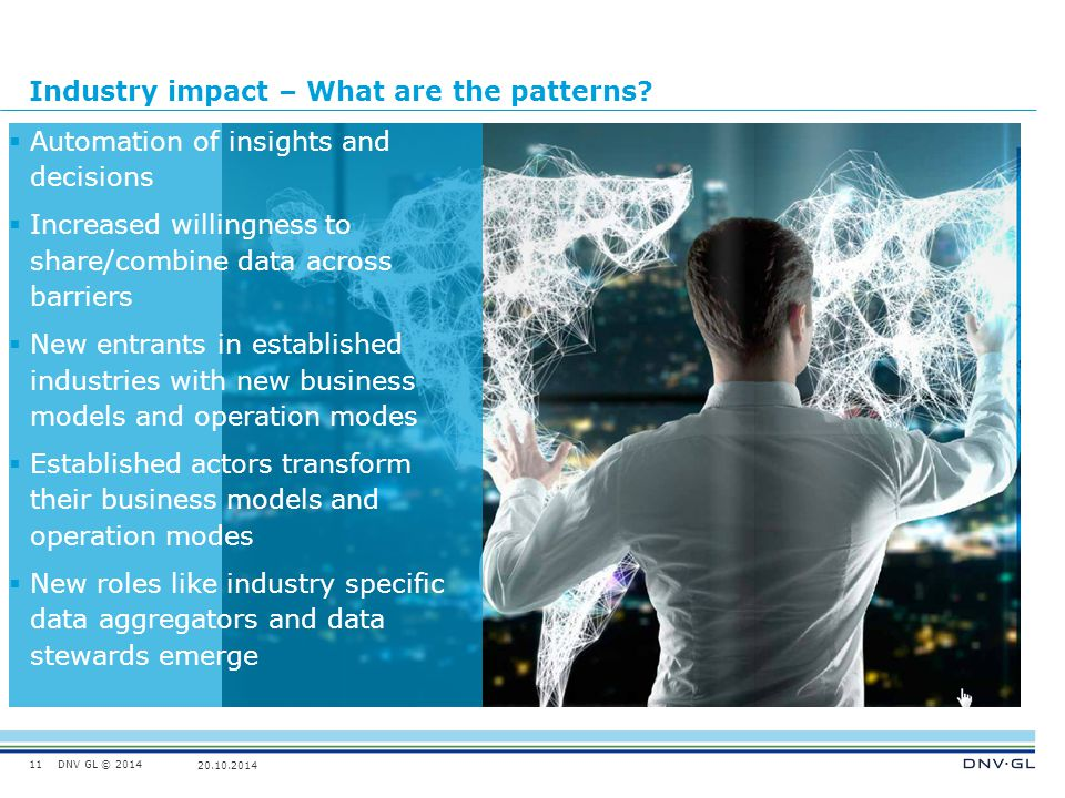 Industry impact – What are the patterns