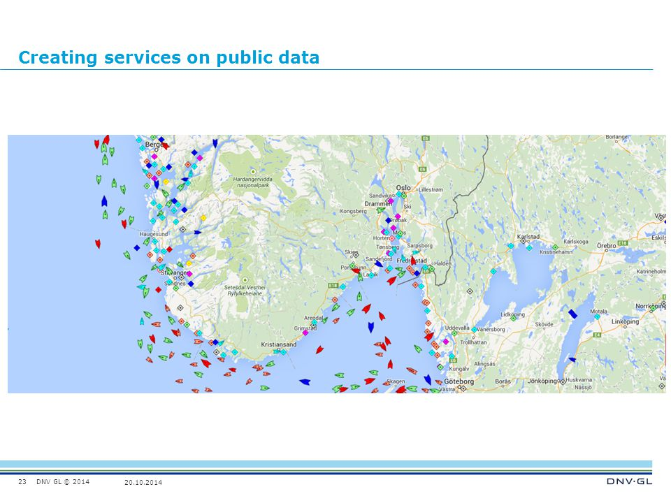 Creating services on public data