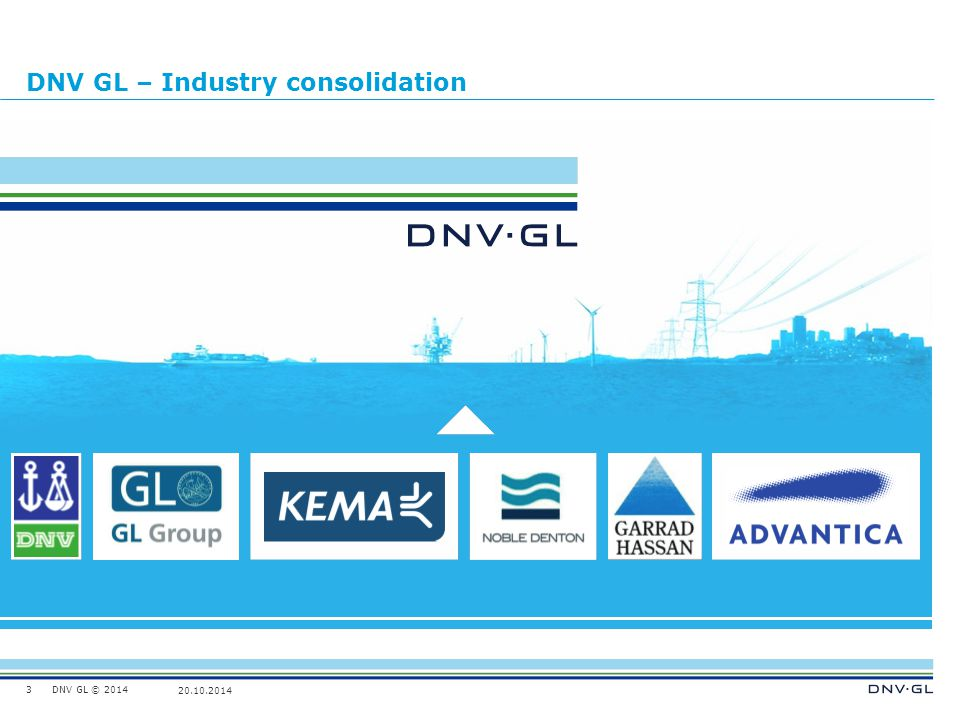 DNV GL – Industry consolidation