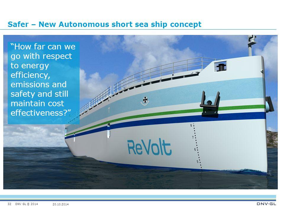 Safer – New Autonomous short sea ship concept