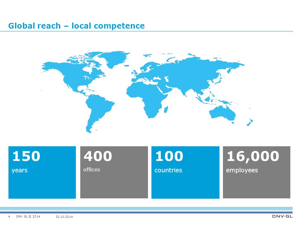 Global reach – local competence