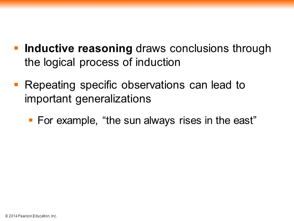 Repeating specific observations can lead to important generalizations