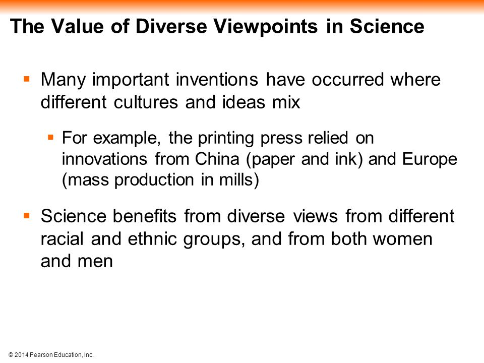 The Value of Diverse Viewpoints in Science