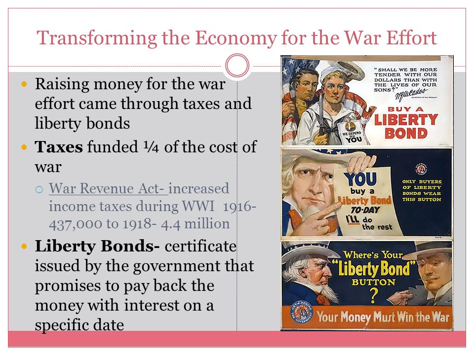 Transforming the Economy for the War Effort