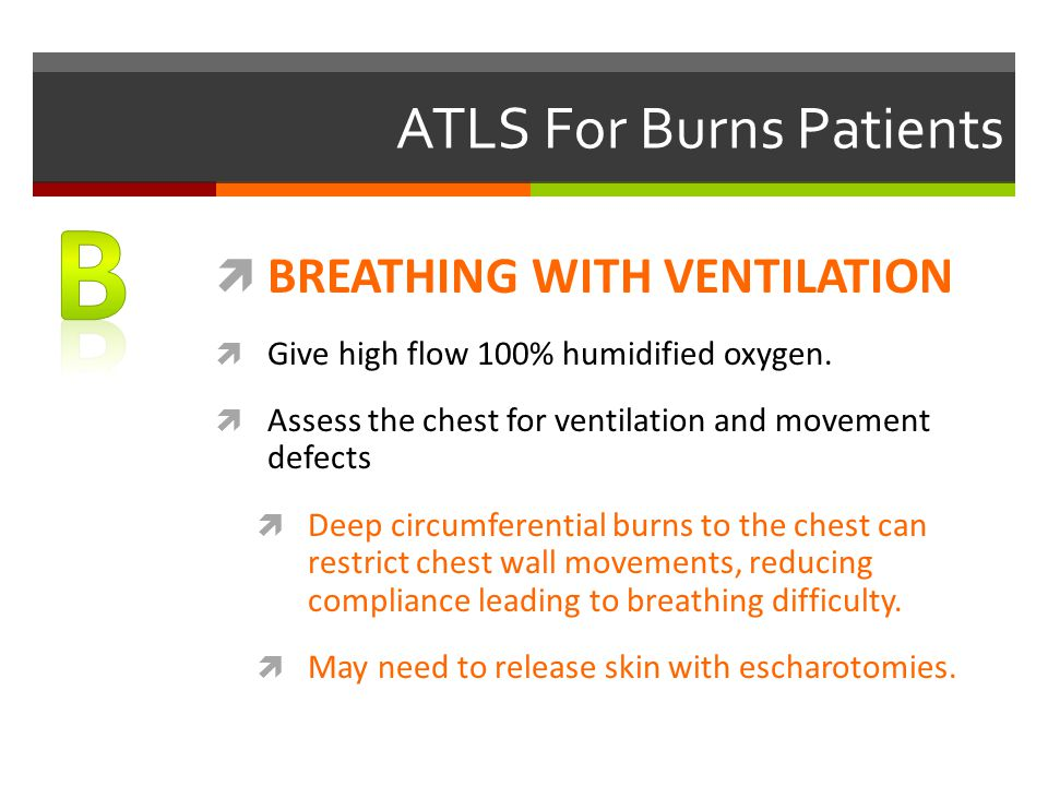 ATLS For Burns Patients