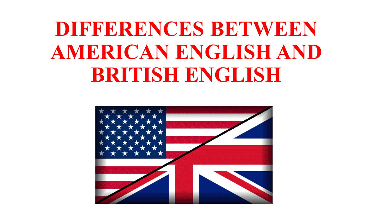 difference between british and american english From confusion over pants and trousers to the very different uses of the word rubber, a handy infographic has outlined 63 of the main differences between british and american english.