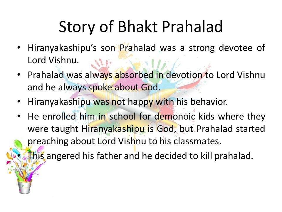 Story of Bhakt Prahalad