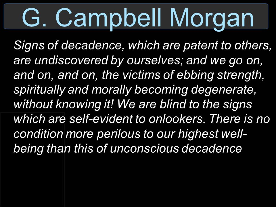G. Campbell Morgan