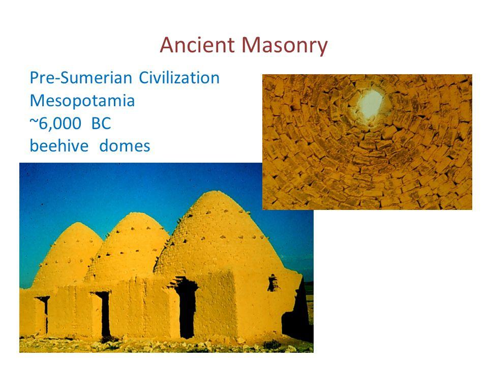 Ancient Masonry Pre-Sumerian Civilization Mesopotamia ~6,000 BC