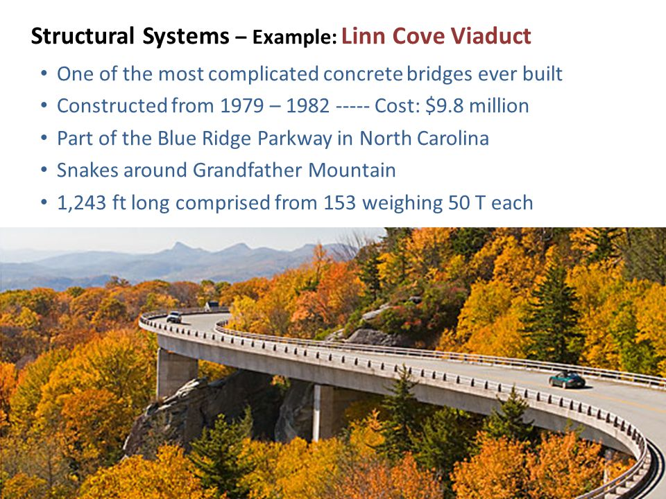 Structural Systems – Example: Linn Cove Viaduct