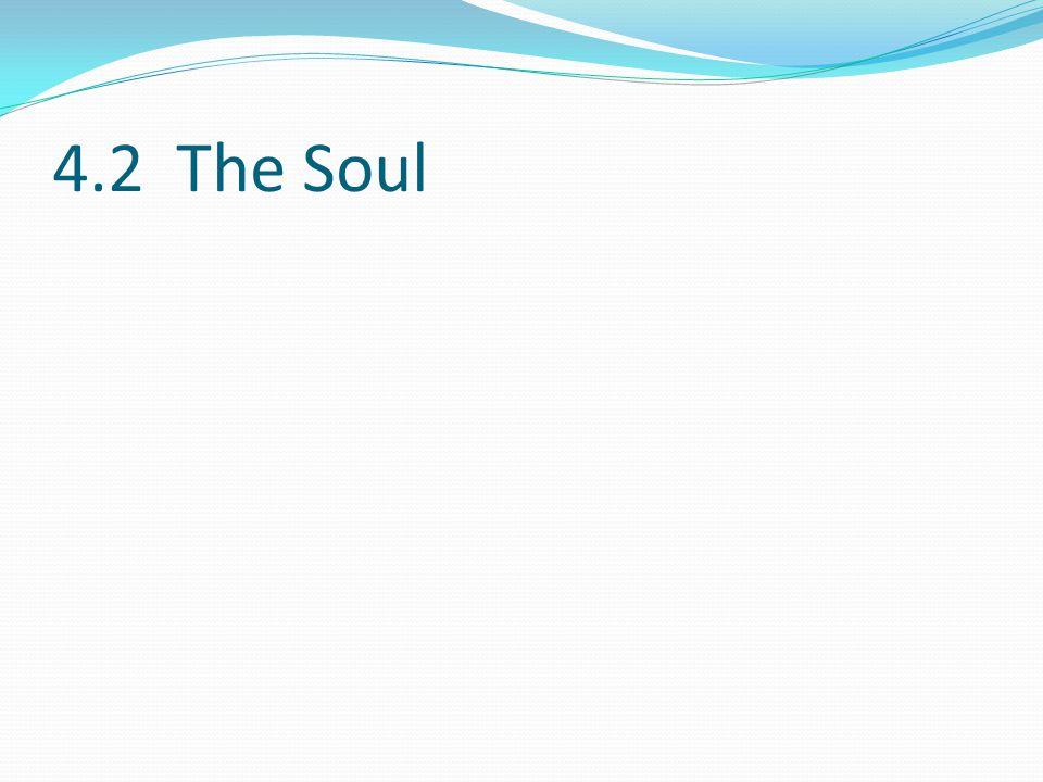 4.2 The Soul