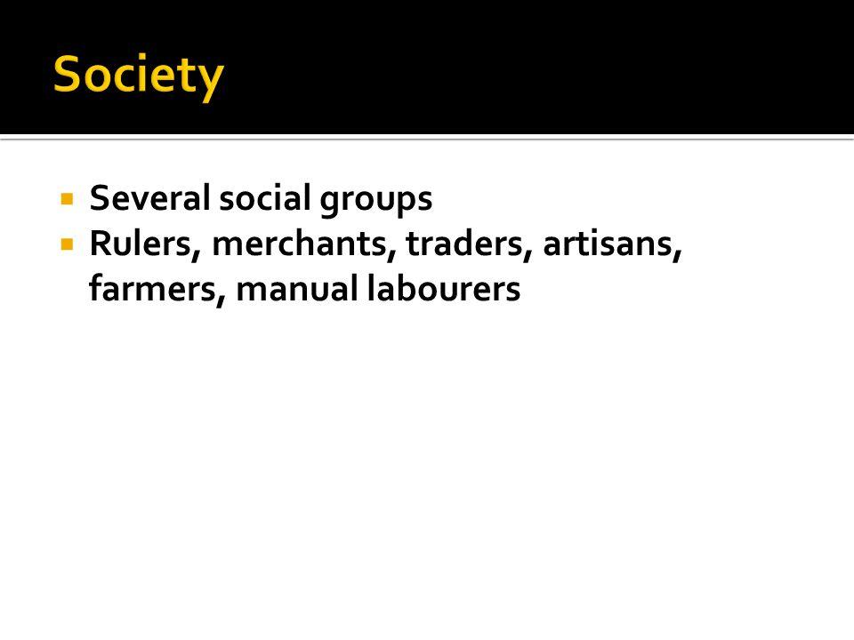 Society Several social groups