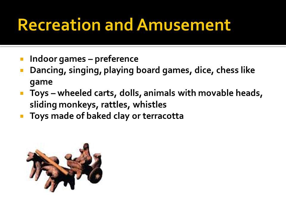 Recreation and Amusement