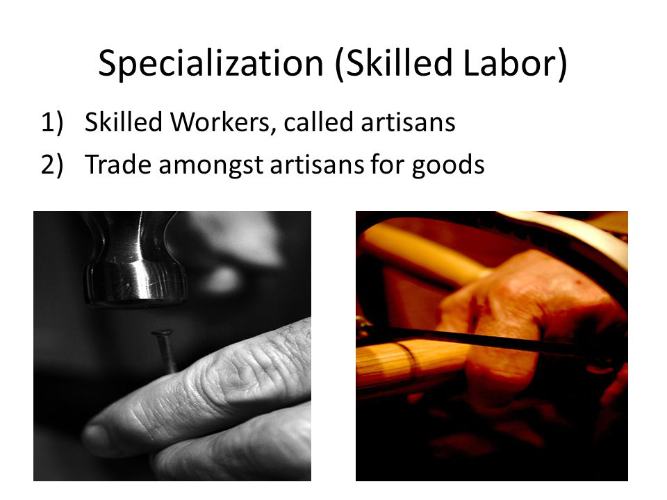 Specialization (Skilled Labor)