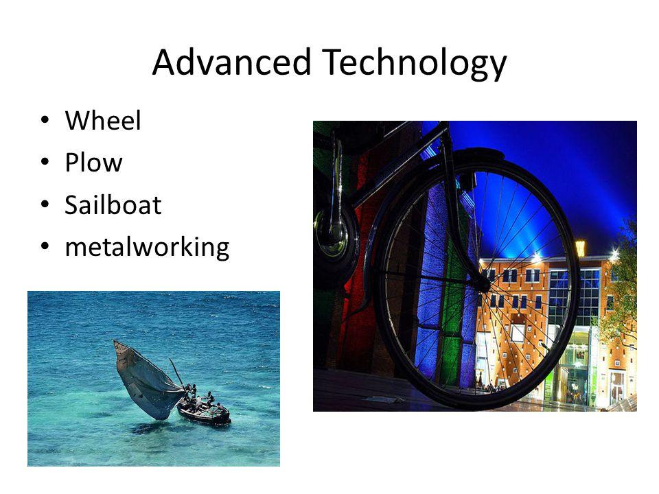 Advanced Technology Wheel Plow Sailboat metalworking