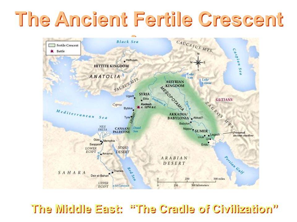 The Ancient Fertile Crescent Area