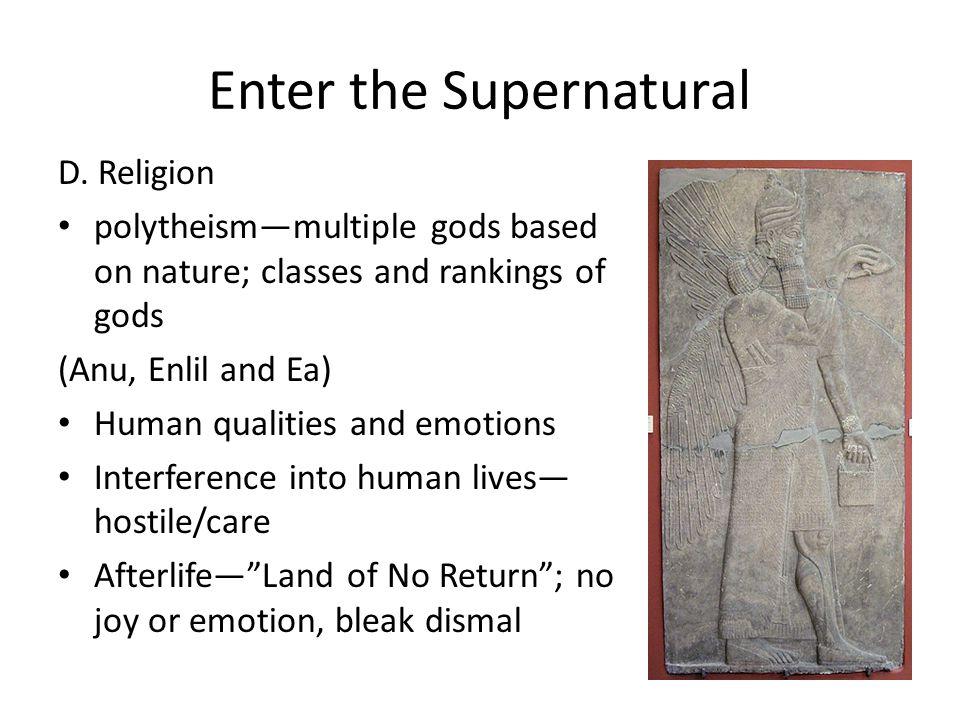 Enter the Supernatural