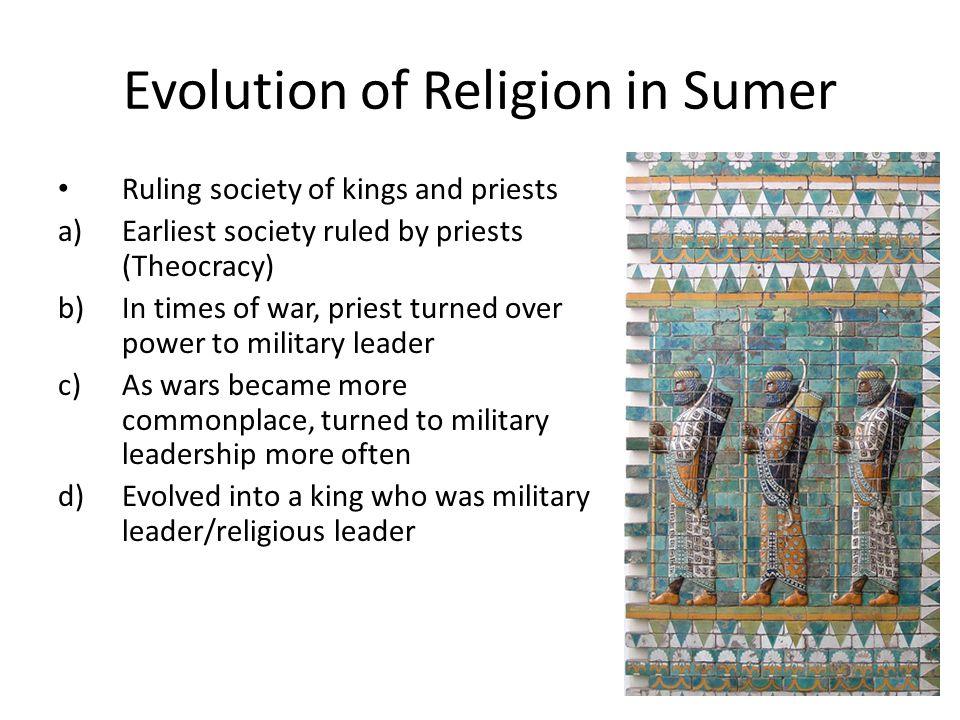 Evolution of Religion in Sumer